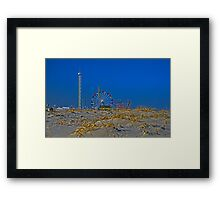 Fun is Just Past the Dunes! Framed Print