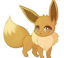 Eevee by ninjaxkitty