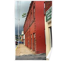 Downtown Elizabethton, Tennessee, 2008 Poster