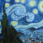Van Gogh's Starry Night by moumita
