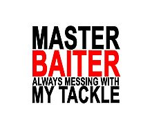 Master Baiter - Funny Fishing.png Photographic Print