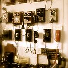 Antique Telephones by Ryan Harvey