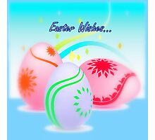 Easter Wishes... Photographic Print
