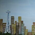 Space Needle in Seattle by moumita