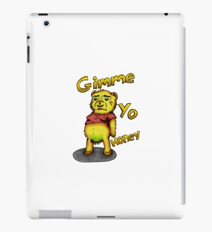 Creepy Pooh Bear- Gimmie Yo Honey iPad Case/Skin