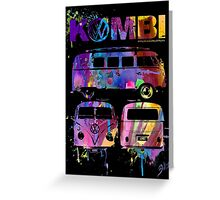 Volkswagen Kombi 3 Way (bright) © Greeting Card
