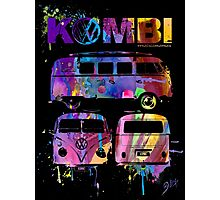 Volkswagen Kombi 3 Way (bright) Photographic Print