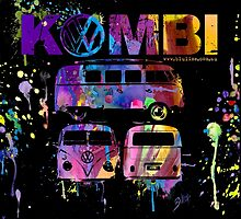 Volkswagen Kombi 3 Way (bright) by BlulimeMerch