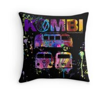 Volkswagen Kombi 3 Way (bright) © Throw Pillow