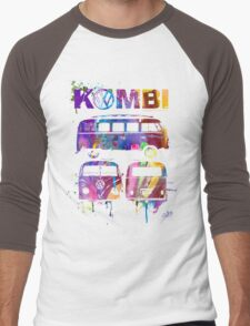 Volkswagen Kombi 3 Way (bright) © Men's Baseball ¾ T-Shirt