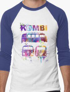 Volkswagen Kombi 3 Way (bright) © Men's Baseball ¾ T-Shirt