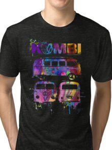 Volkswagen Kombi 3 Way (bright) © Tri-blend T-Shirt