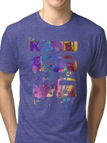 Volkswagen Kombi 3 Way (bright) © Tri-blend T-Shirt