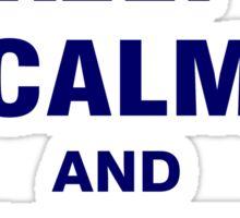 Keep Calm and Vote Bernie 2016 Sticker
