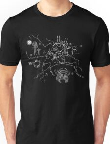 Twin Peaks - Owl Cave Map Unisex T-Shirt