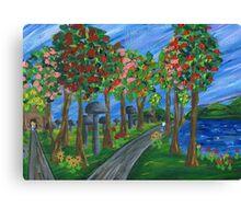 Entering Wonderland Canvas Print