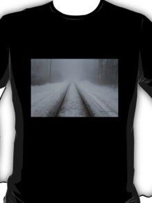 Foggy Tracks T-Shirt