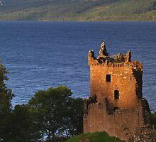 Urquhart Castle  by WatscapePhoto