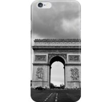 Looking down on Champs Elysees - Paris, France iPhone Case/Skin