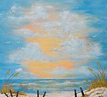"""""""Serenity in Blue"""" by JoNeL-Art"""