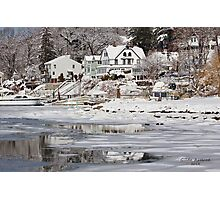 Icy Snowy Winter Wonderland Photographic Print