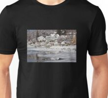 Icy Snowy Winter Wonderland Unisex T-Shirt