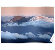 Mount Mueller from Nevada Peak Poster