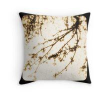 Spring In Sepia Throw Pillow