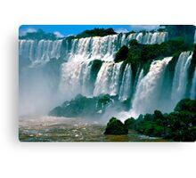 Las Cataratas de Iguazu Canvas Print