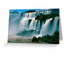 Las Cataratas de Iguazu Greeting Card