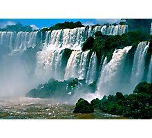 Las Cataratas de Iguazu Photographic Print