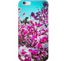 Magnolia Blossoms iPhone Case/Skin