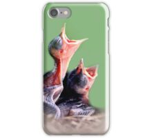 we want our mommie!!! iPhone Case/Skin