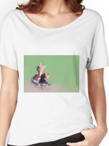 we want our mommie!!! Women's Relaxed Fit T-Shirt
