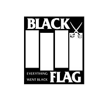 Black Flag - Everything Went Black by Cameron Michelson