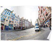 Edinburgh Town Poster