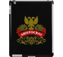Fit For An Aristocrat Coat-of-Arms iPad Case/Skin