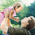 """Lift Me Up"" Colored Pencil by Charlotte Yealey by Charlotte Yealey"