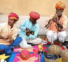 Snake charmers of India by Kartick Das