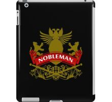 Fit For A Nobleman Coat-of-Arms iPad Case/Skin