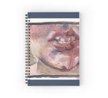Split Lip Spiral Notebook