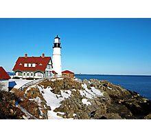 Portland Light Maine  Photographic Print