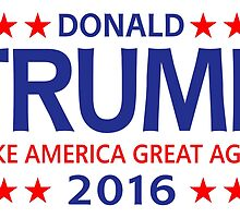 Donald Trump for president 2016 by ozdilh