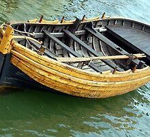 Adrift in Plymouth Harbor by John  Kapusta