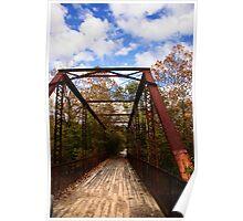 katy trail bridge Poster