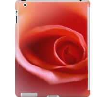 peach rose iPad Case/Skin