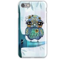 little blue bird iPhone Case/Skin