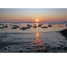 Sunrise at Plymouth Harbor  Photographic Print