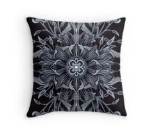 - Black pattern - Throw Pillow