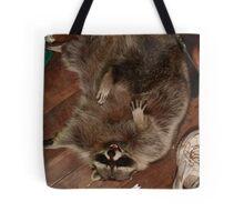 Raccoon Rampage Tote Bag